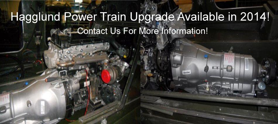 Powertrain Upgrade For Hagglunds